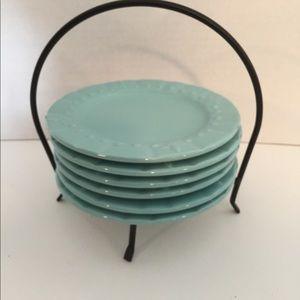 Set of 6 appetizer plates